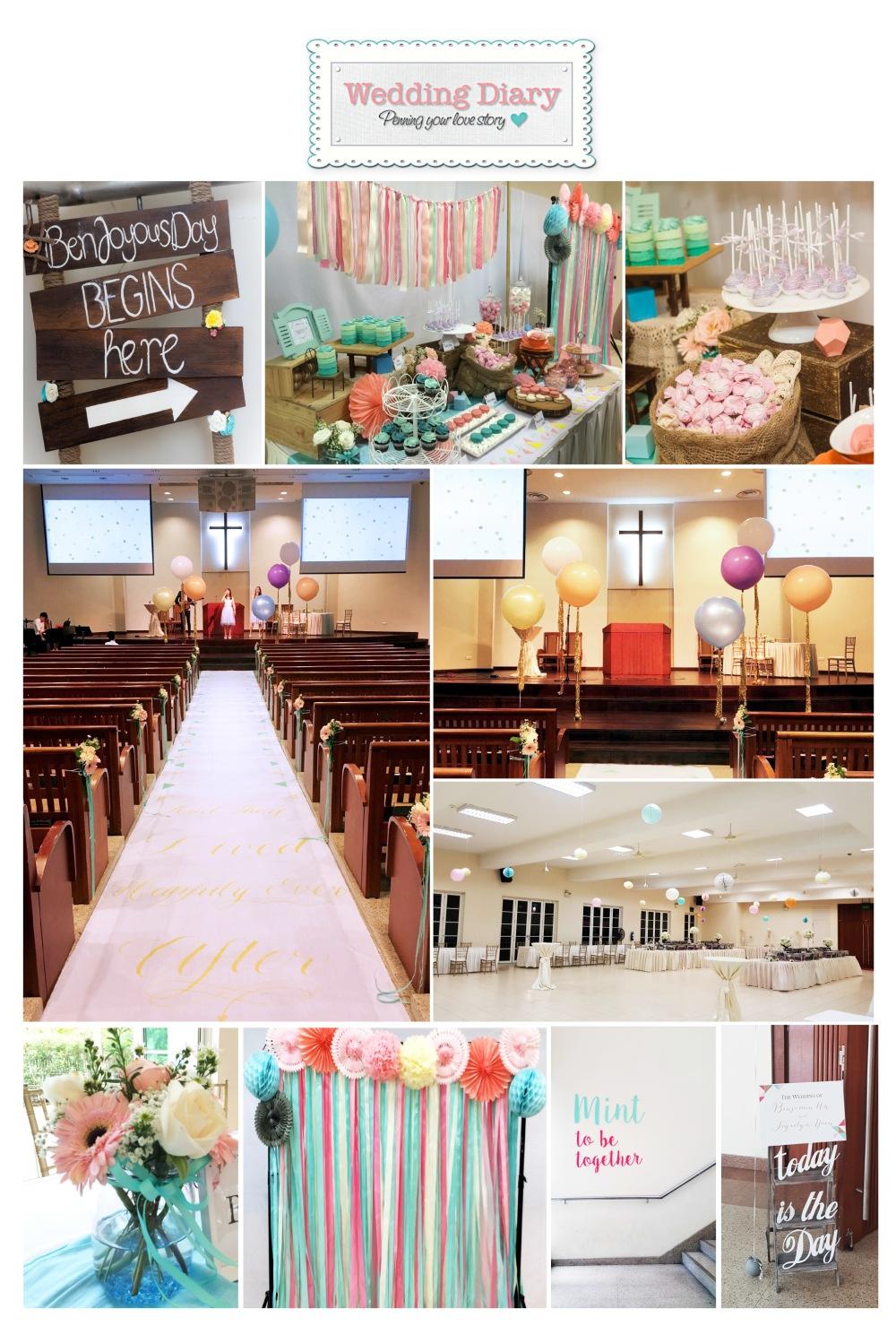 Wedding at Thomson Road Baptist Church