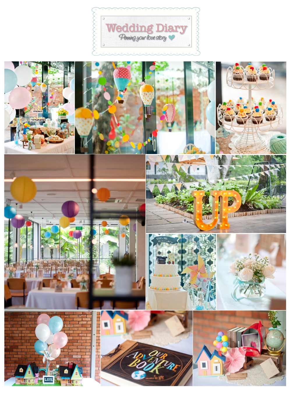 Wedding at Skyve_Up themed