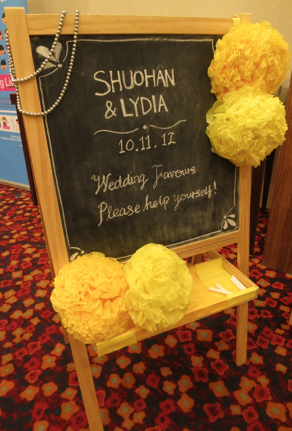 Yellow And Gold Wedding Theme