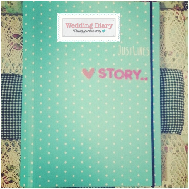 wedding diary_book