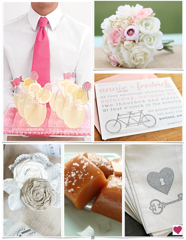 Pink-Shabby-Chic-Etsy-Wedding