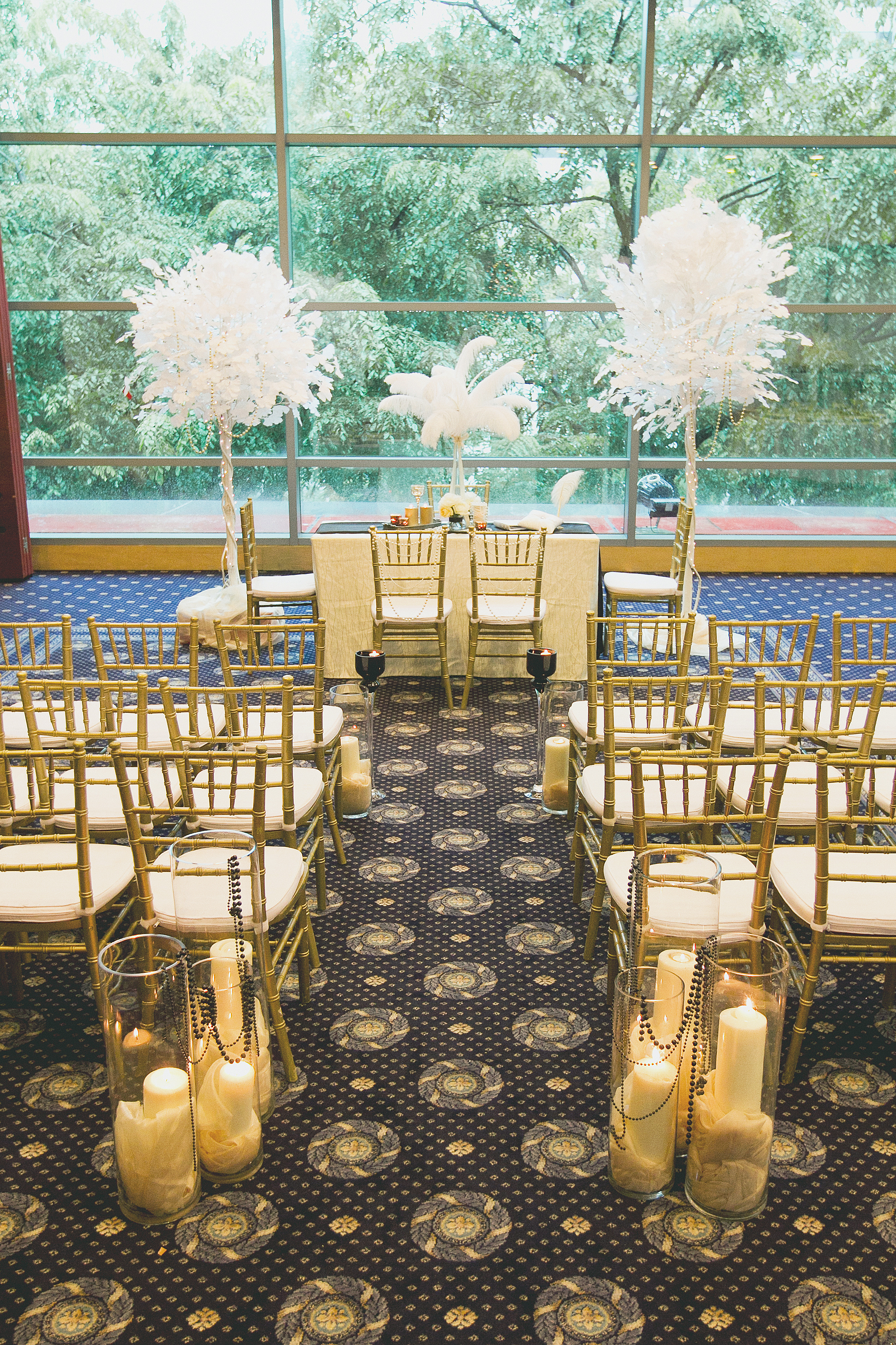 The Great Gatsby Theme {Featured in Blissful Brides Magazine Singapore}