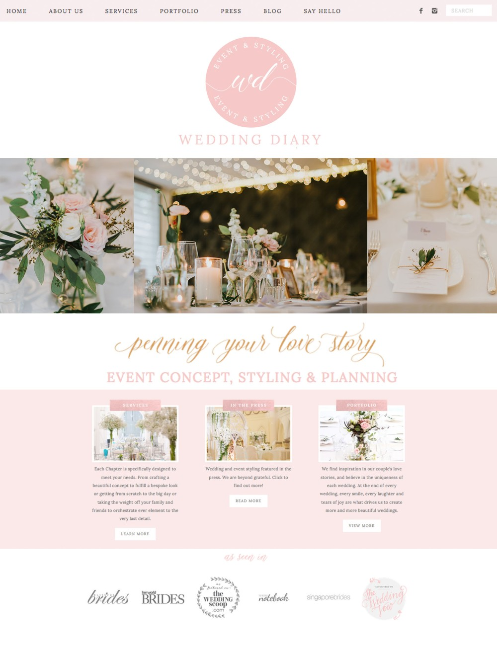 weddingdiary_homepage